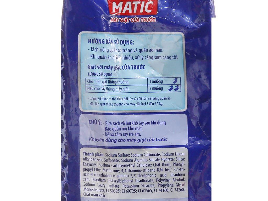 Bột giặt OMO Matic 3x xoáy bay vết bẩn 4.5kg 4