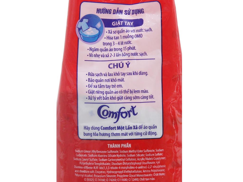 Bột giặt OMO Sạch cực nhanh 3kg 4