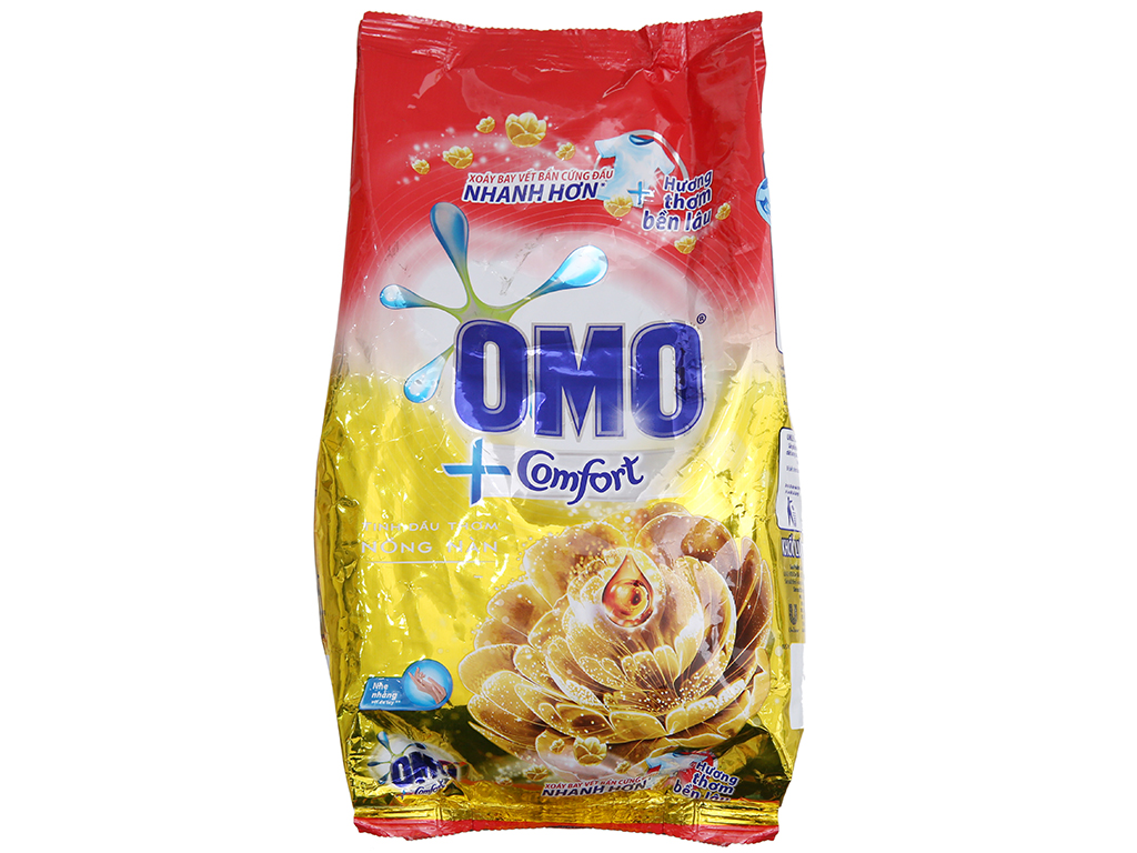 Bột giặt OMO Comfort Tinh dầu thơm nồng nàn 720g 2