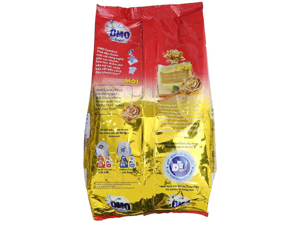 Bột giặt OMO Comfort Tinh dầu thơm nồng nàn 720g 3