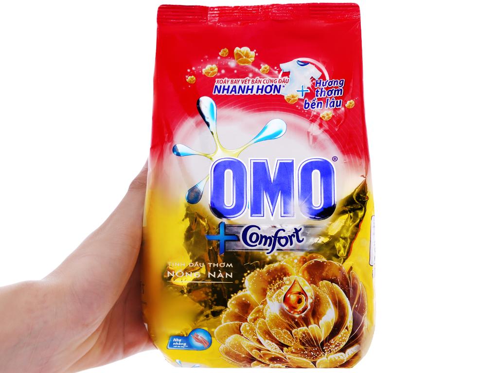 Bột giặt OMO Comfort Tinh dầu thơm nồng nàn 720g 5