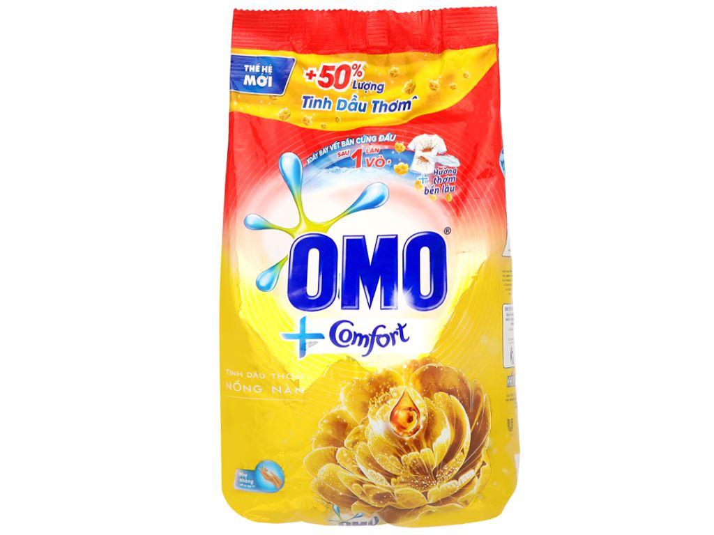 Bột giặt OMO Comfort tinh dầu thơm nồng nàn 720g 1