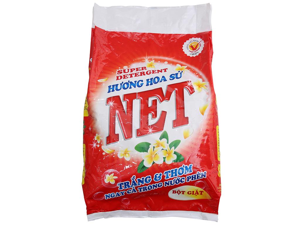 Bột giặt NET hương Hoa sứ 2.4kg 2