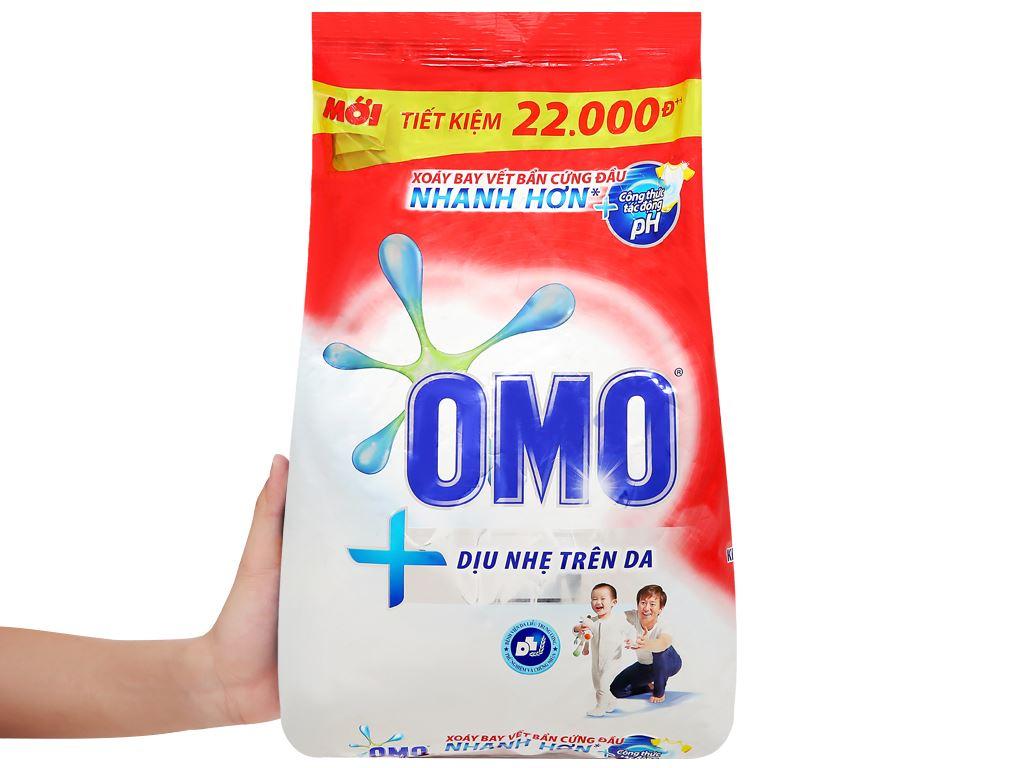 Bột giặt OMO dịu nhẹ trên da 4.1kg 5