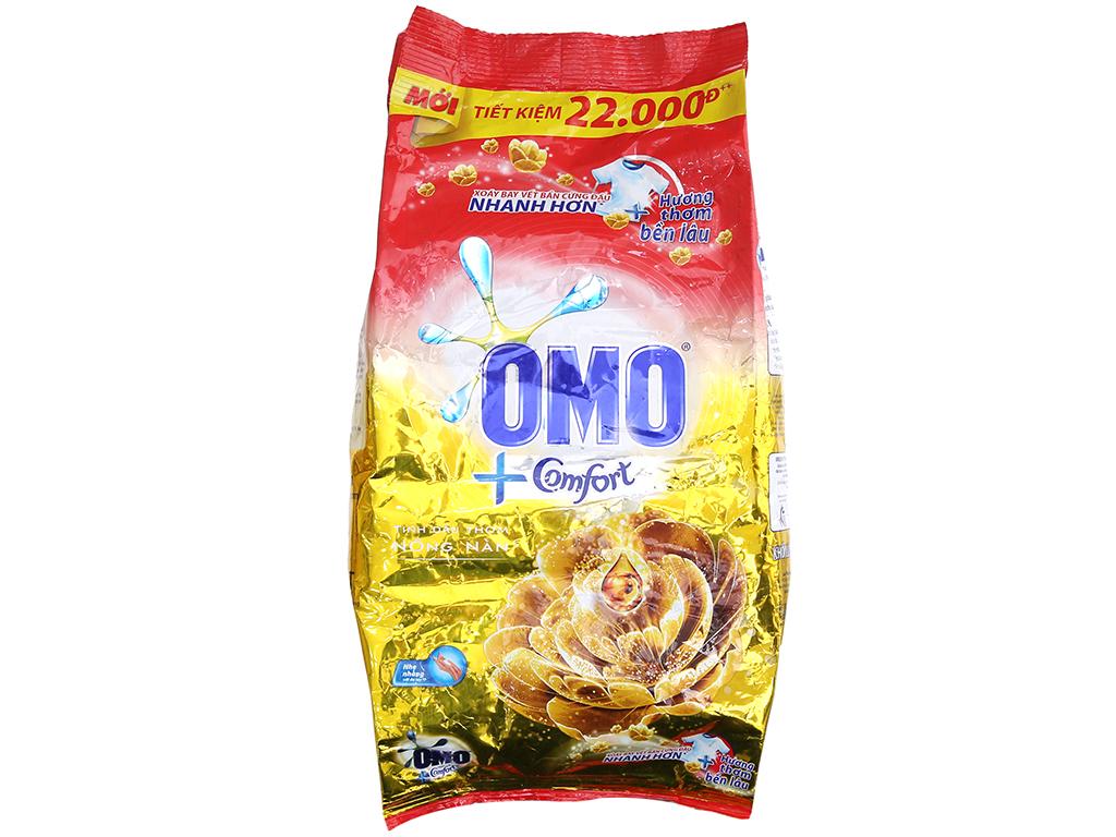 Bột giặt OMO Comfort Tinh dầu thơm nồng nàn 2.7kg 2