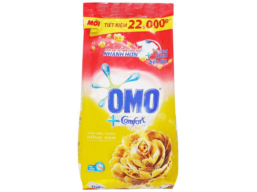 Bột giặt OMO Comfort tinh dầu thơm nồng nàn 2.7kg 1