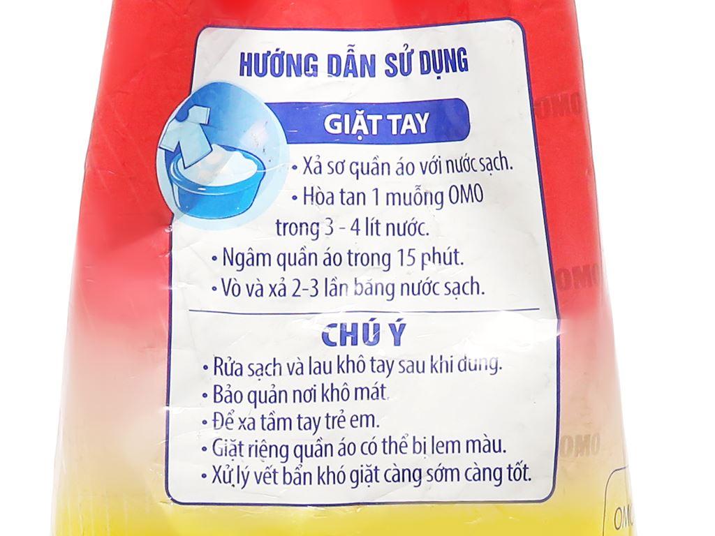 Bột giặt OMO Comfort tinh dầu thơm nồng nàn 2.7kg 5