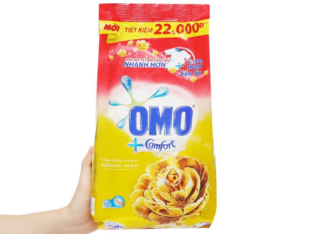 Bột giặt OMO Comfort tinh dầu thơm nồng nàn 2.7kg 6