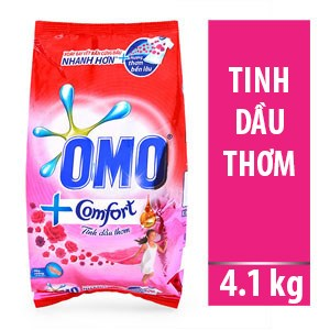 Bột giặt OMO Comfort Diệu kỳ 4,1kg