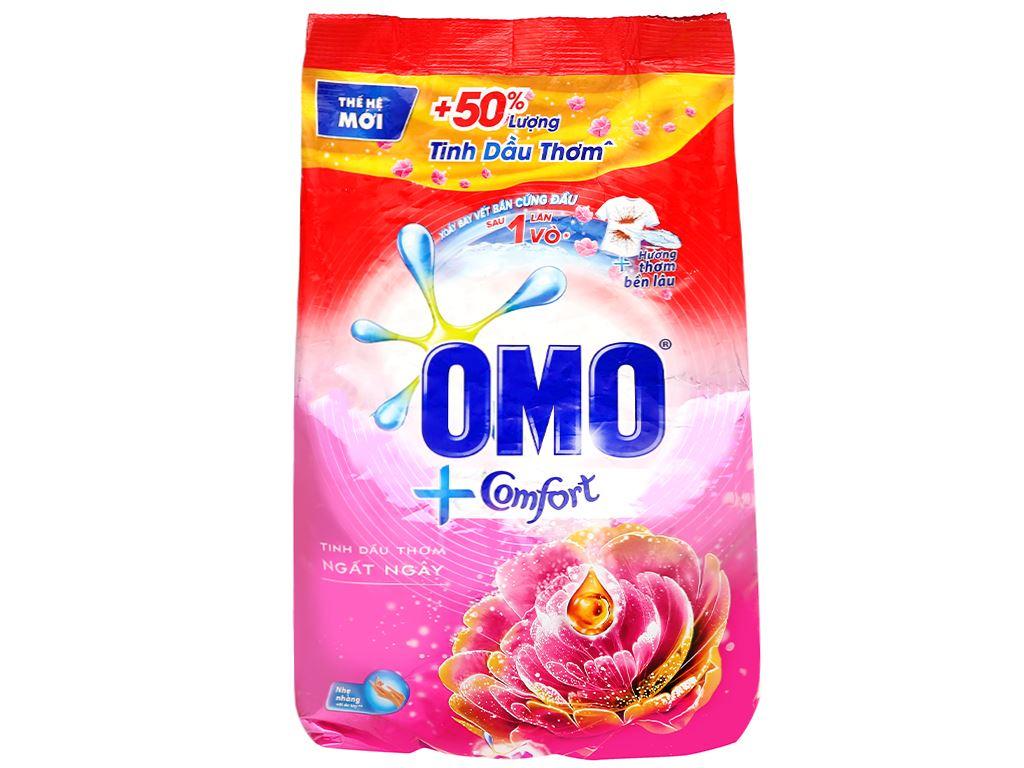 Bột giặt OMO Comfort tinh dầu thơm ngất ngây 4.1kg 1