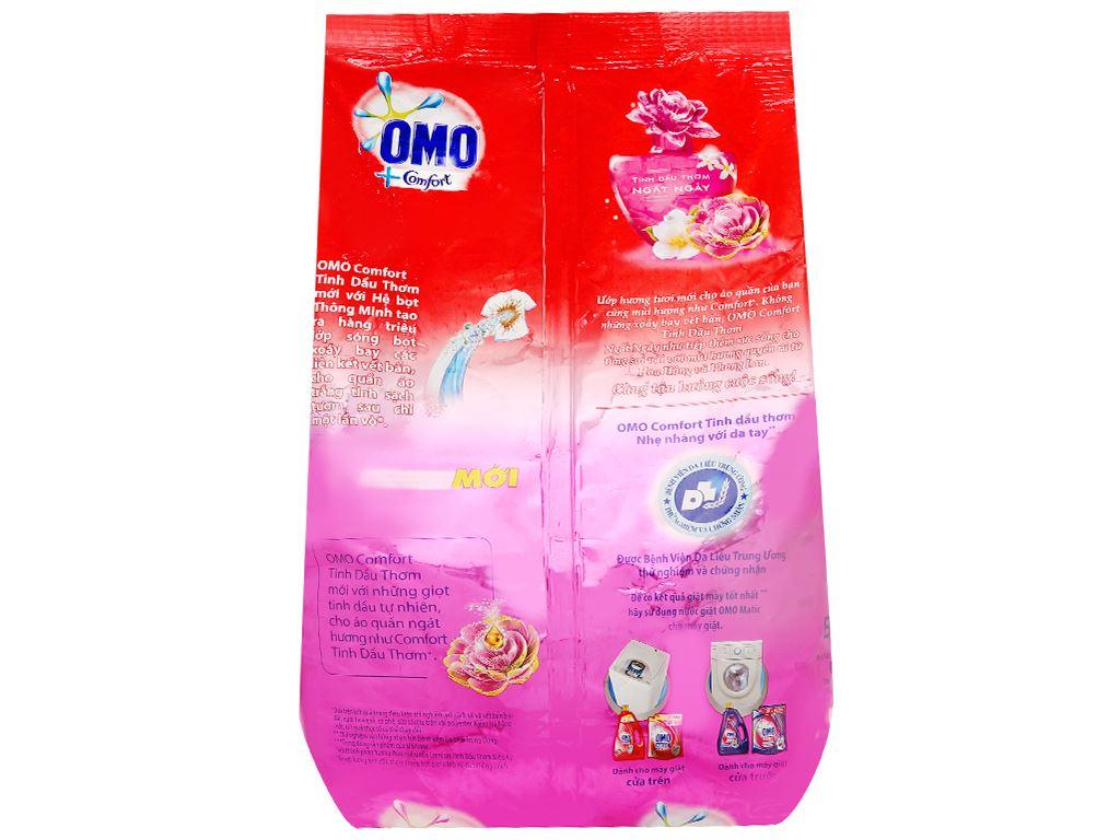 Bột giặt OMO Comfort tinh dầu thơm ngất ngây 4.1kg 2