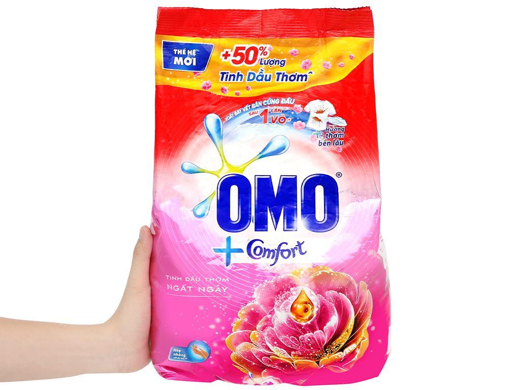 Bột giặt OMO Comfort tinh dầu thơm ngất ngây 4.1kg 5