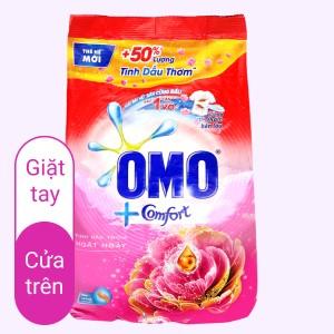 Bột giặt OMO Comfort tinh dầu thơm ngất ngây 4.1kg