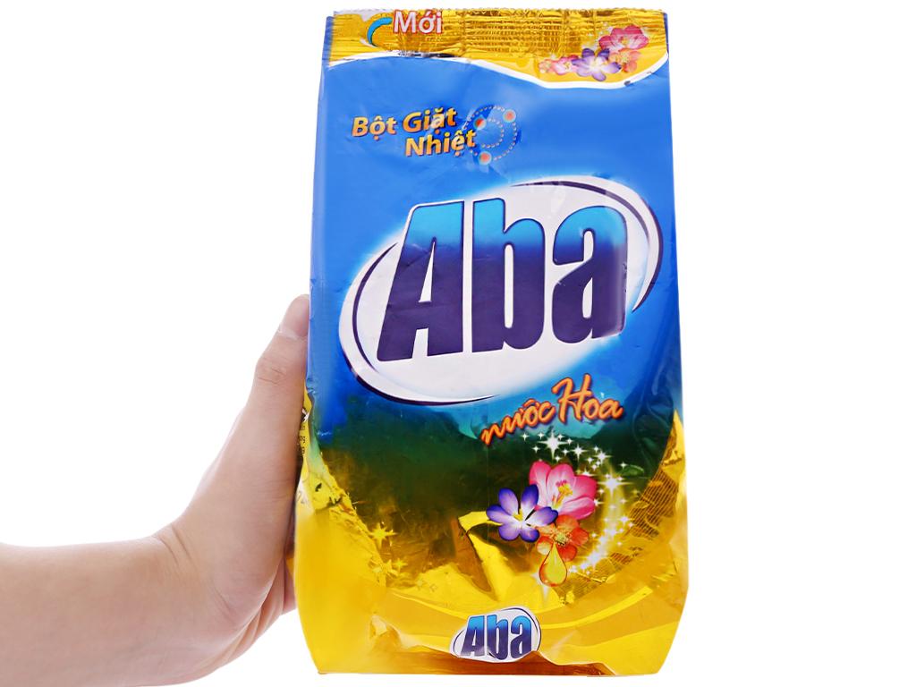 Bột giặt nhiệt Aba hương nước hoa 720g 6