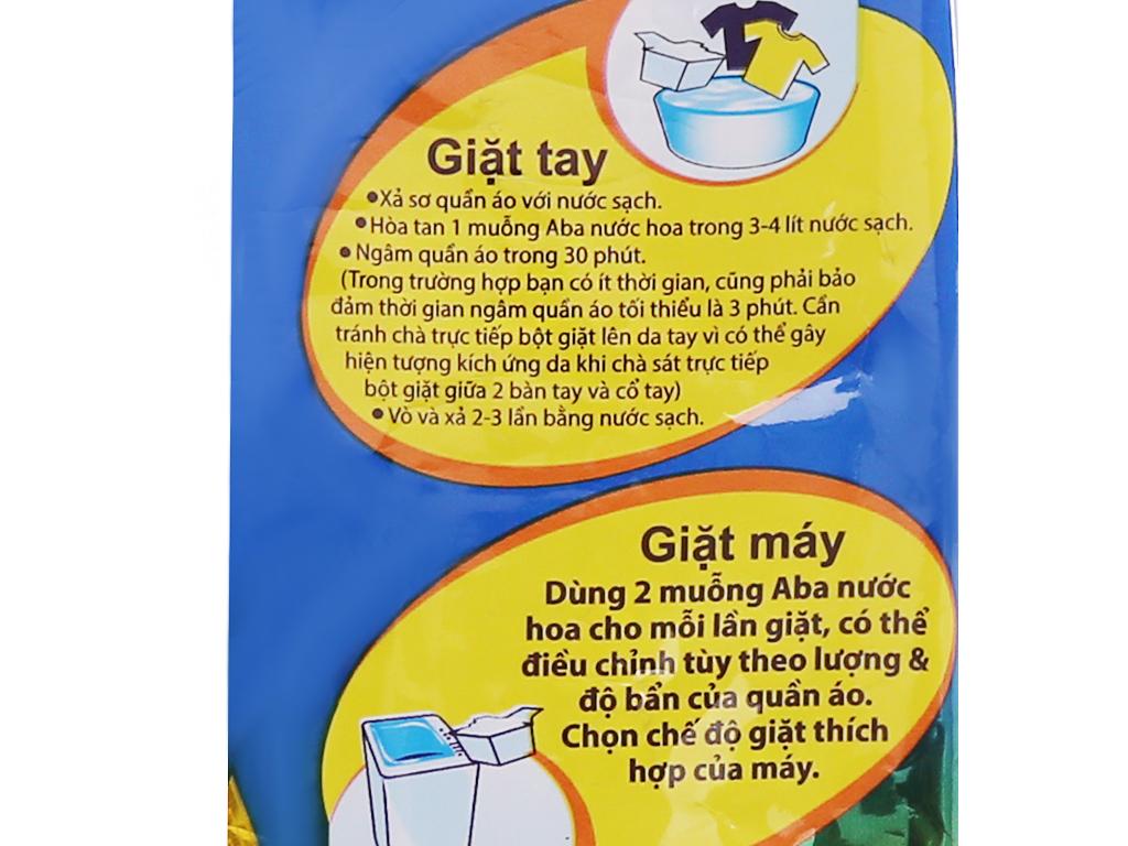 Bột giặt nhiệt Aba hương nước hoa 720g 4