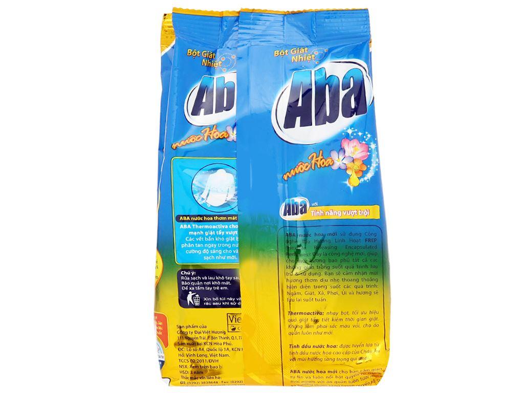 Bột giặt nhiệt Aba hương nước hoa 720g 2