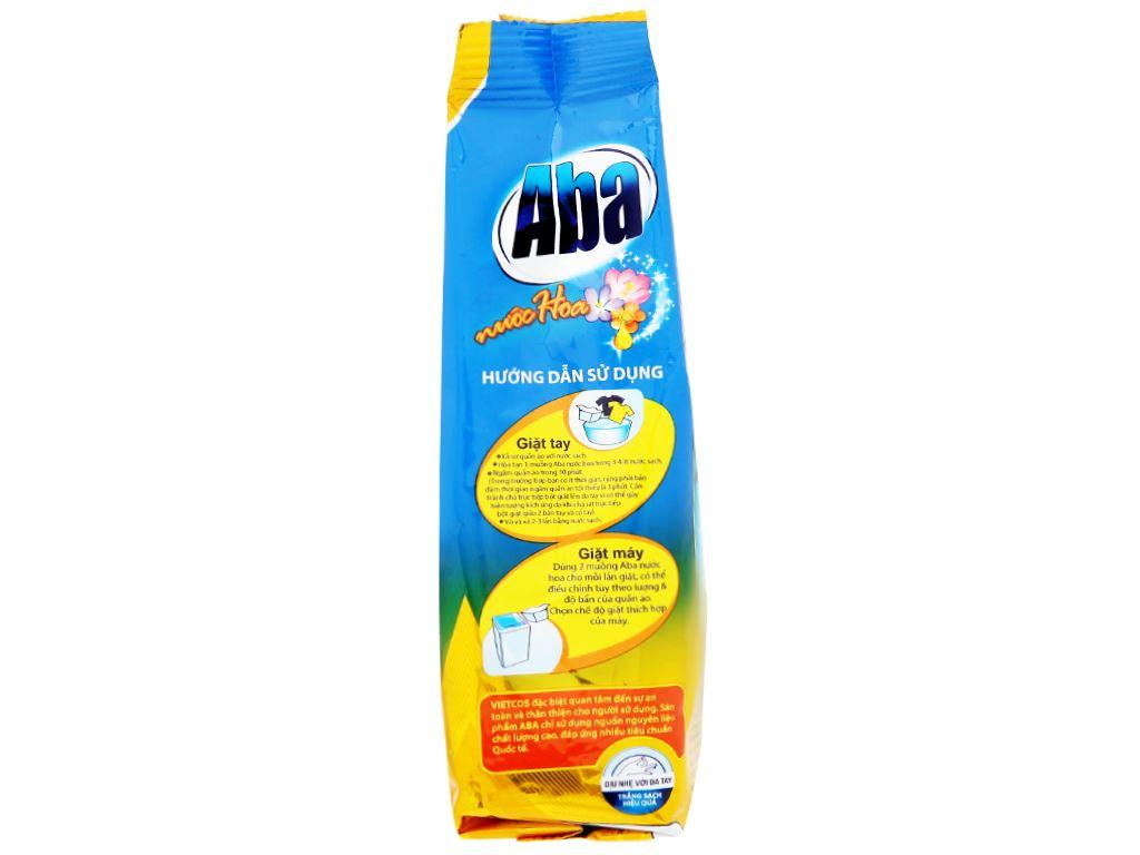 Bột giặt nhiệt Aba hương nước hoa 720g 3