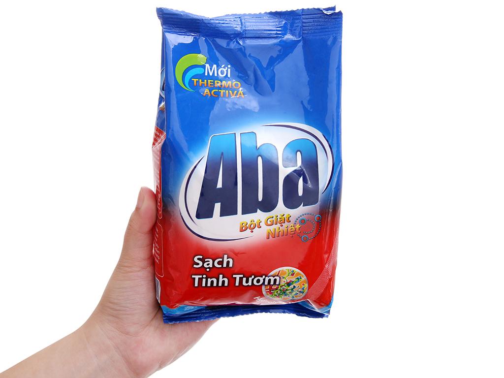 Bột giặt nhiệt Aba Sạch tinh tươm 400g 4