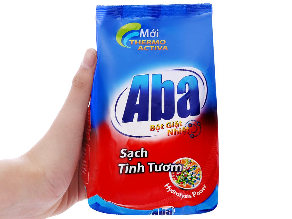 Bột giặt nhiệt Aba sạch tinh tươm 400g 6