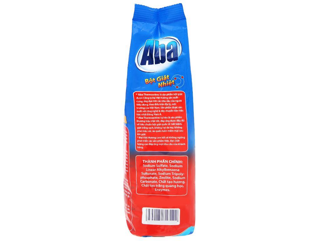 Bột giặt nhiệt Aba sạch tinh tươm 400g 3