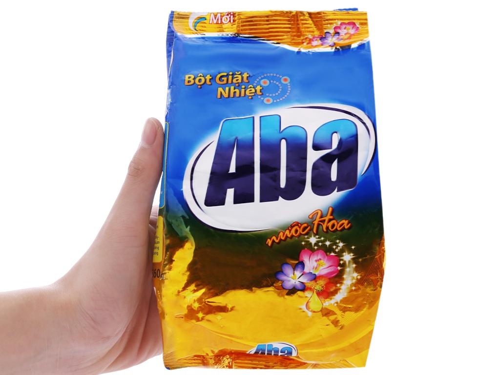 Bột giặt nhiệt Aba hương nước hoa 360g 5