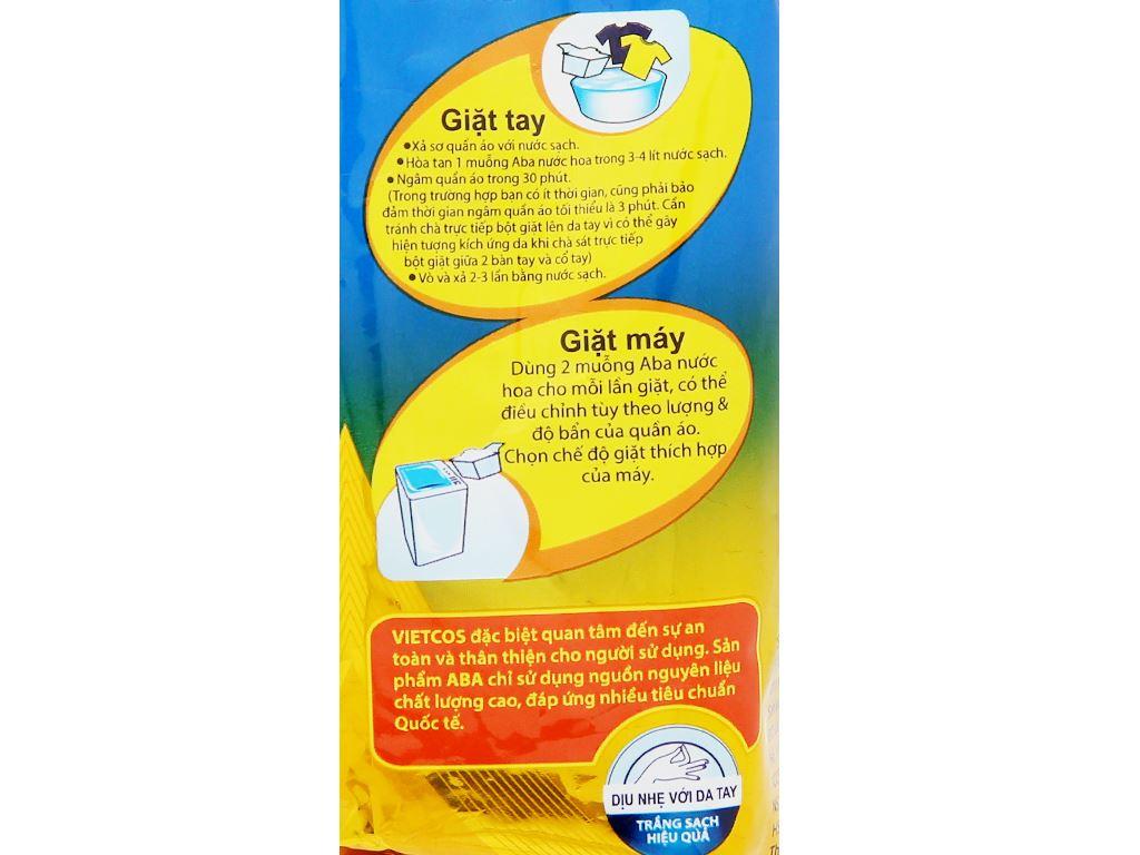 Bột giặt nhiệt Aba hương nước hoa 360g 6