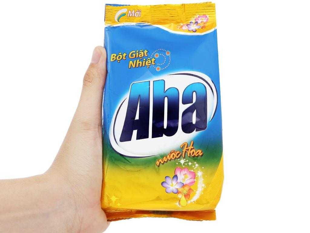 Bột giặt nhiệt Aba hương nước hoa 360g 7