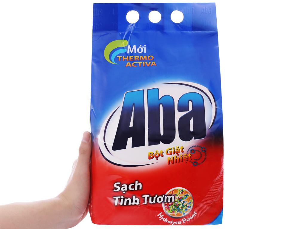 Bột giặt nhiệt Aba sạch tinh tươm 3kg 5