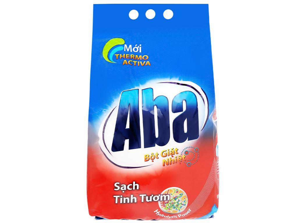 Bột giặt nhiệt Aba sạch tinh tươm 3kg 1