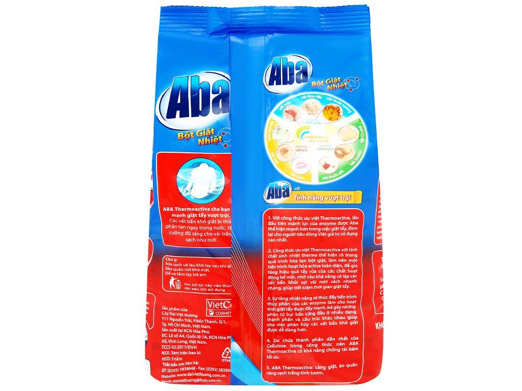 Bột giặt nhiệt Aba sạch tinh tươm 3kg 2