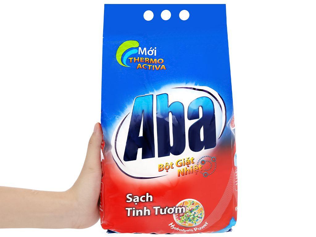 Bột giặt nhiệt Aba sạch tinh tươm 3kg 8