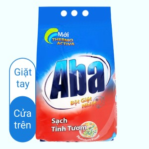 Bột giặt nhiệt Aba sạch tinh tươm 3kg