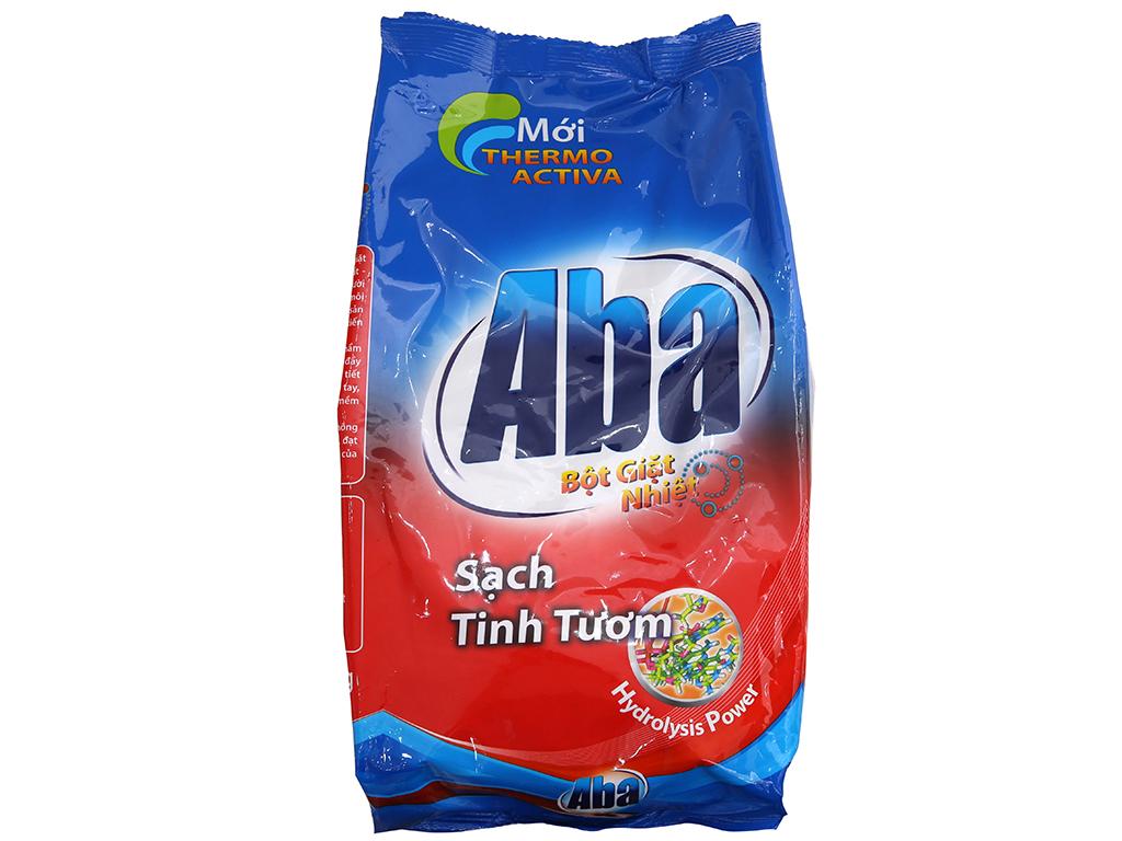 Bột giặt nhiệt Aba sạch tinh tươm 1.5kg 2
