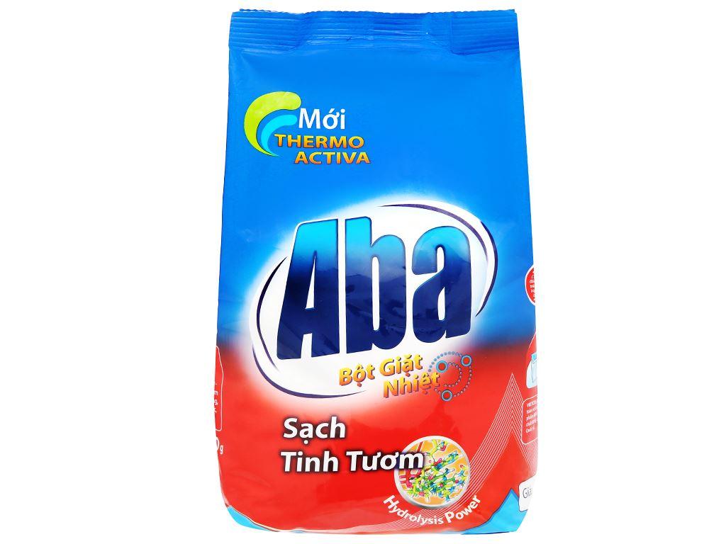 Bột giặt nhiệt Aba sạch tinh tươm 1.5kg 1