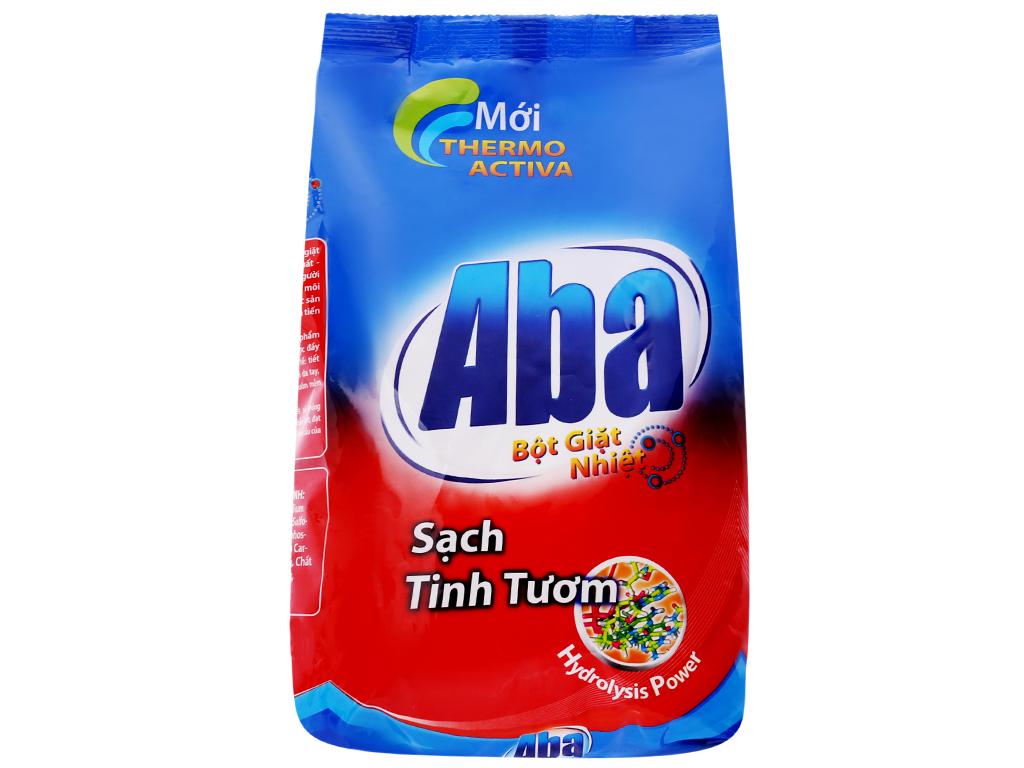 Bột giặt nhiệt Aba Sạch tinh tươm 800g 1