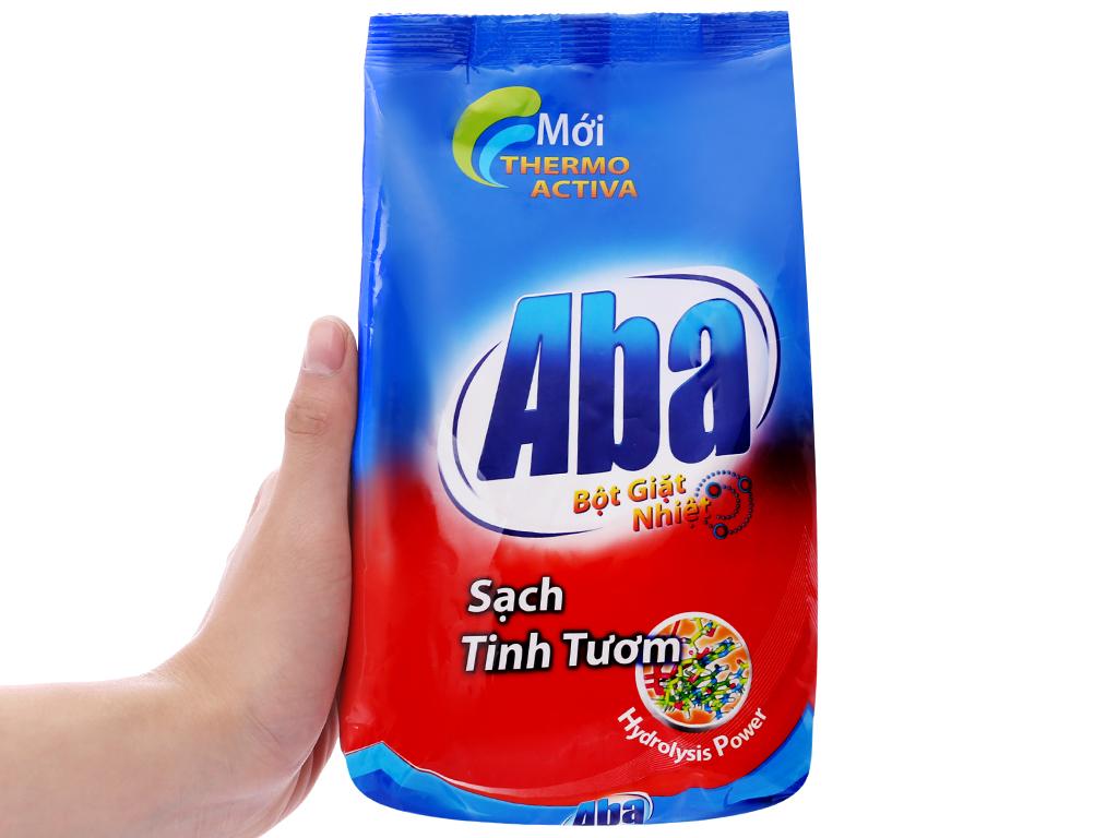 Bột giặt nhiệt Aba Sạch tinh tươm 800g 3