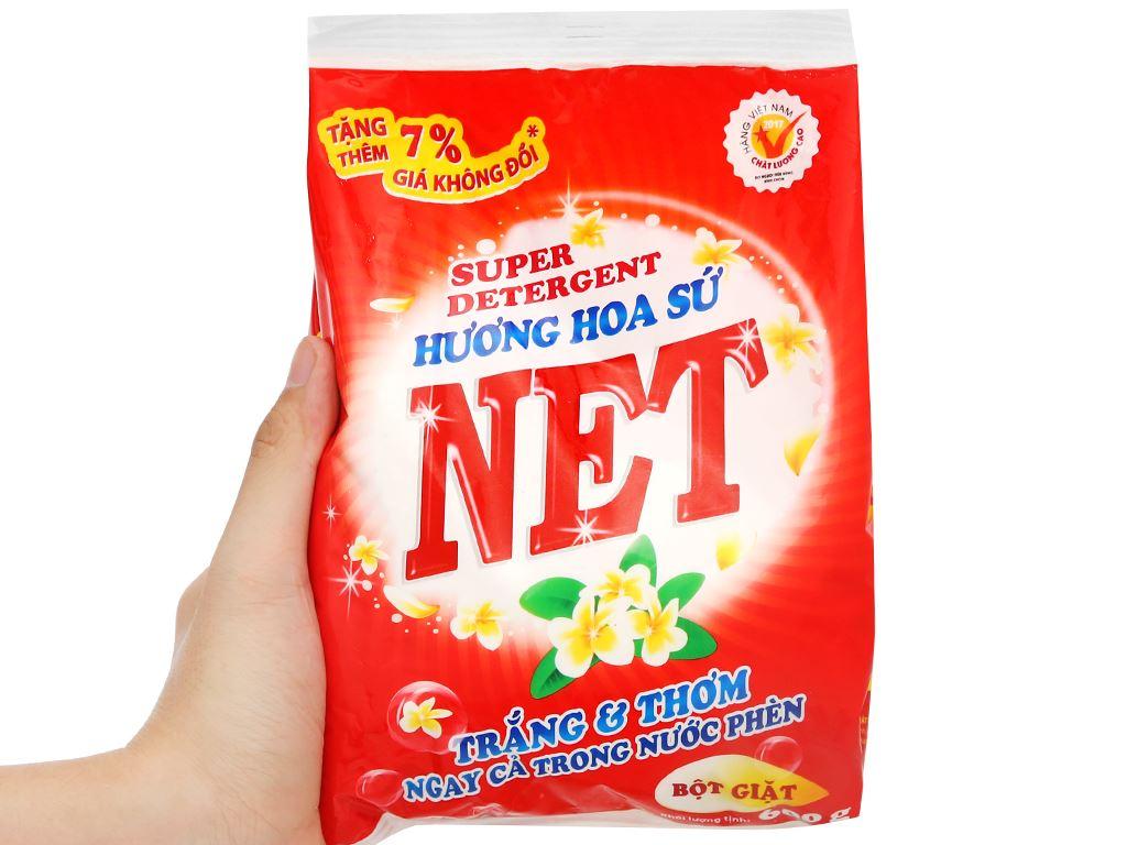 Bột giặt NET hương hoa sứ 600g 5