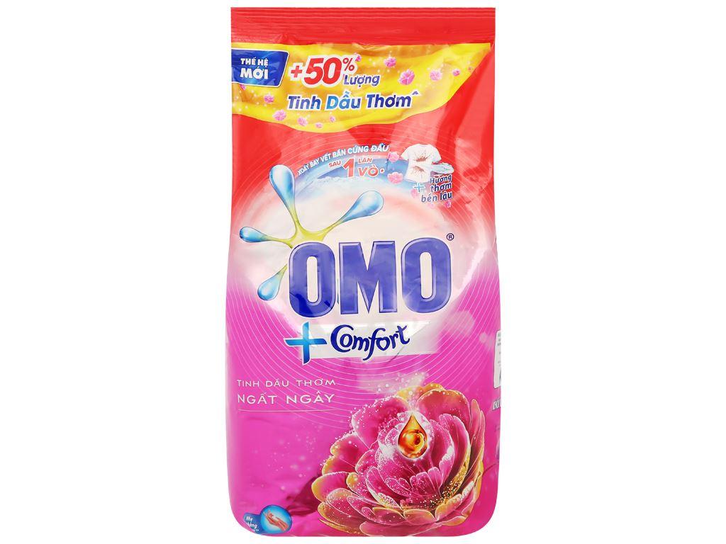 Bột giặt OMO Comfort tinh dầu thơm ngất ngây 5.5kg 1