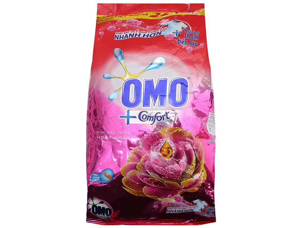 Bột giặt OMO Comfort Tinh dầu thơm ngất ngây 2.7kg 2