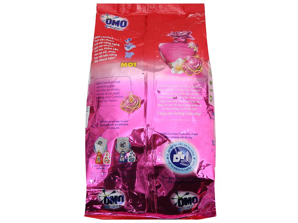Bột giặt OMO Comfort Tinh dầu thơm ngất ngây 2.7kg 3