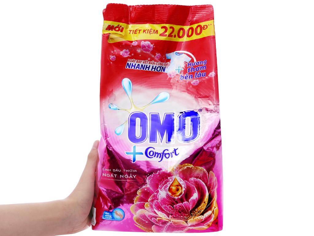 Bột giặt OMO Comfort Tinh dầu thơm ngất ngây 2.7kg 5