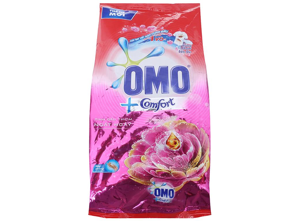 Bột giặt OMO Comfort Tinh dầu thơm ngất ngây 720g 1