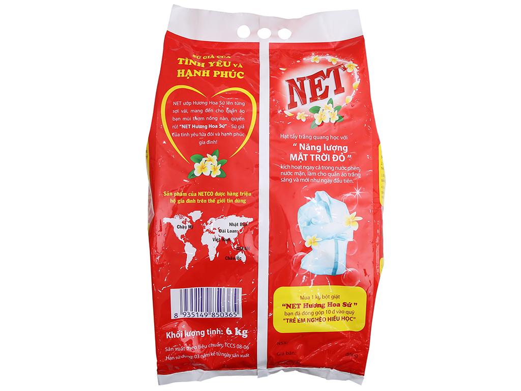 Bột giặt NET hương Hoa sứ 6kg 3