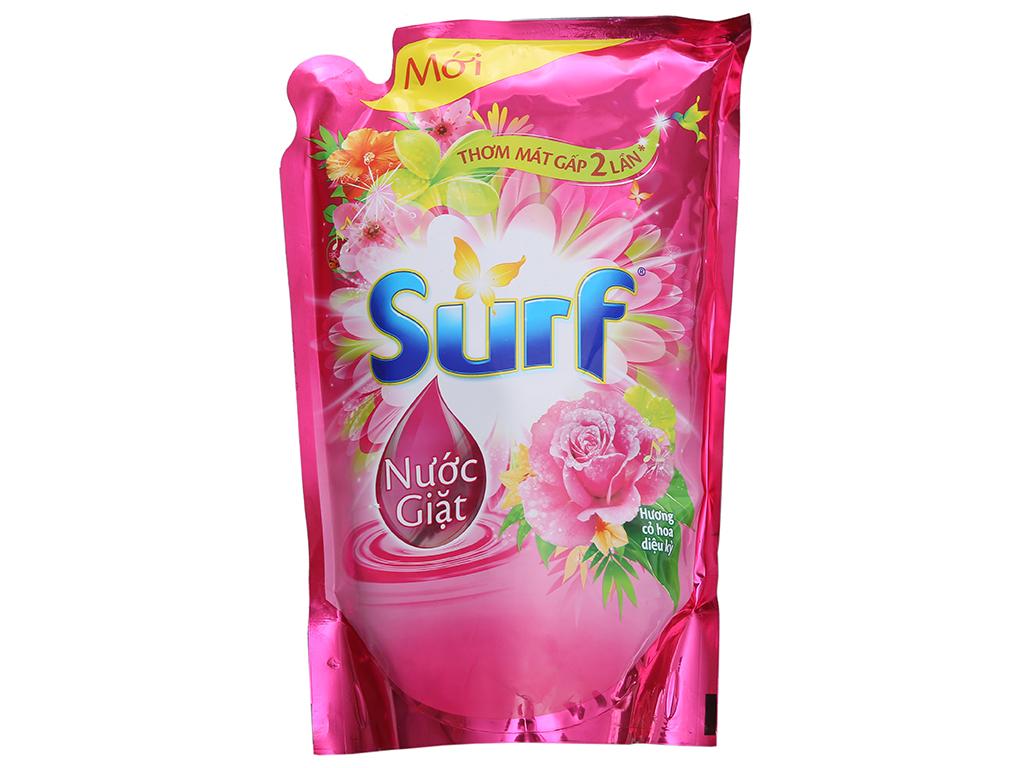 Nước giặt Surf hương cỏ hoa diệu kỳ túi 1.7 lít 2