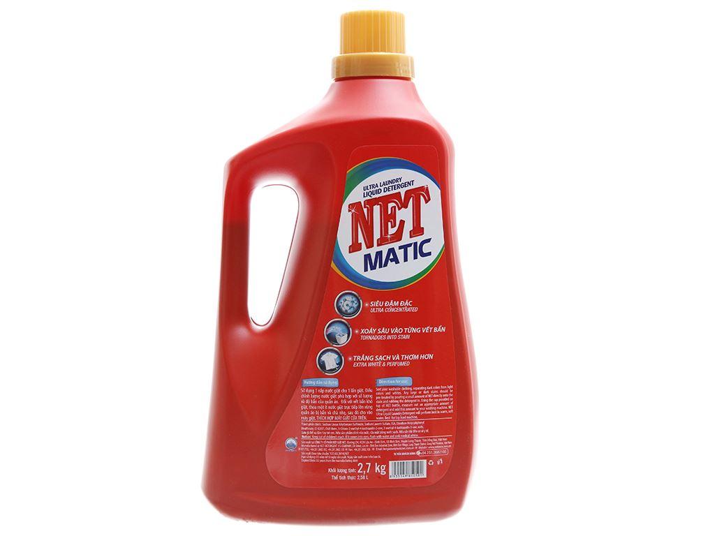 Nước giặt NET Matic ultra & extra chai 2.58 lít 3