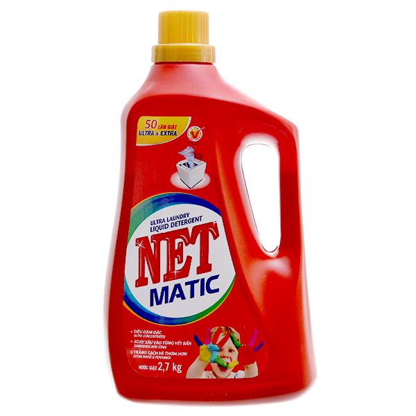 Nước giặt NET Matic đậm đặc 2.7kg