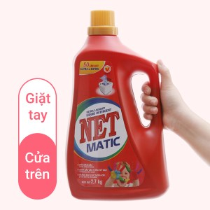 Nước giặt NET Matic ultra & extra 2.58 lít