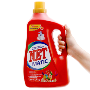 Nước giặt NET Matic ultra & extra chai 2.58 lít