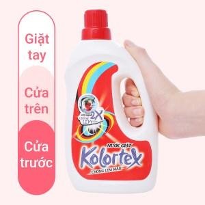 Nước giặt Kolortex chống lem màu chai 1 lít