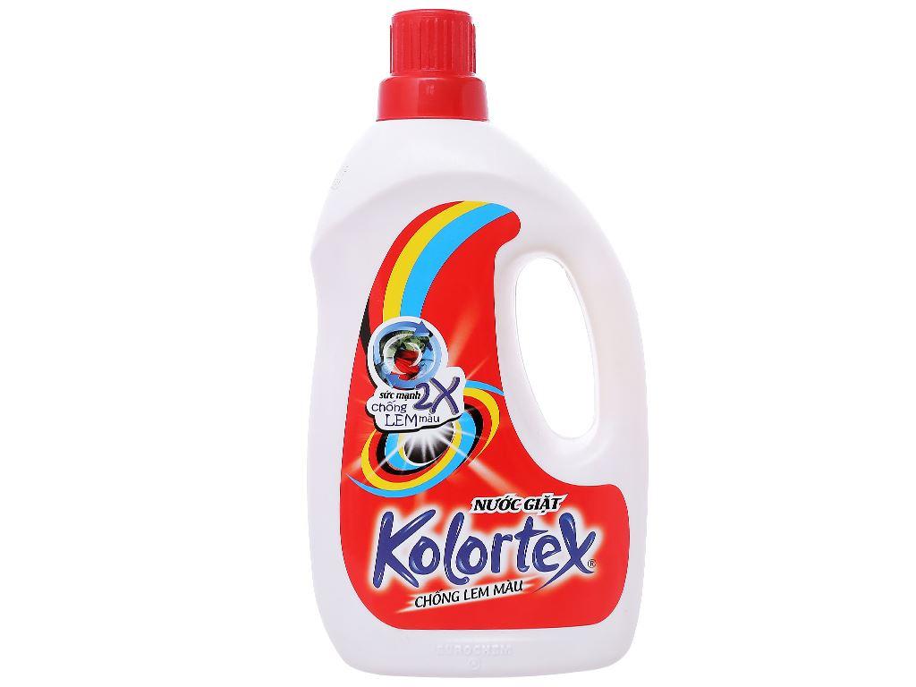 Nước giặt Kolortex chống lem màu 1 lít 1